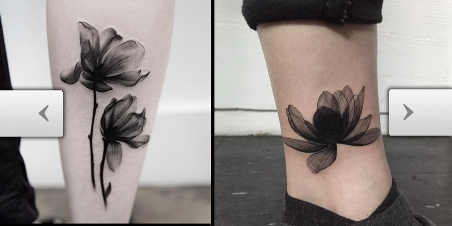 Tattooscom X Ray Flower Tattoos That Will Take Your Breath Away