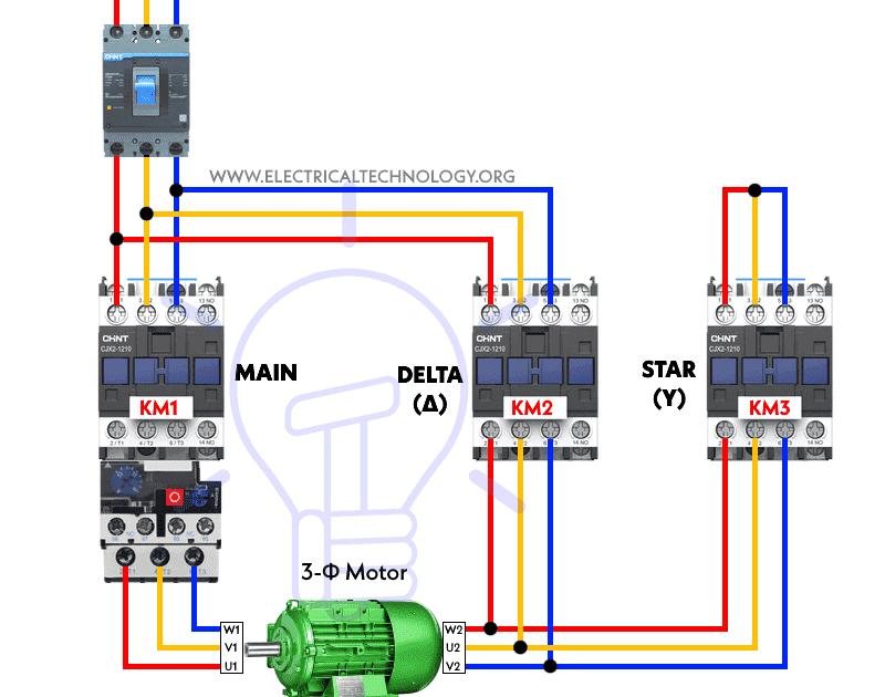 Star Delta Starter Control Wiring Carolspoetrypassion