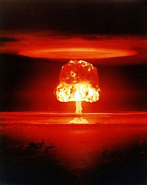Nuclear weapon test Romeo (yield 11 Mt) on Bik...