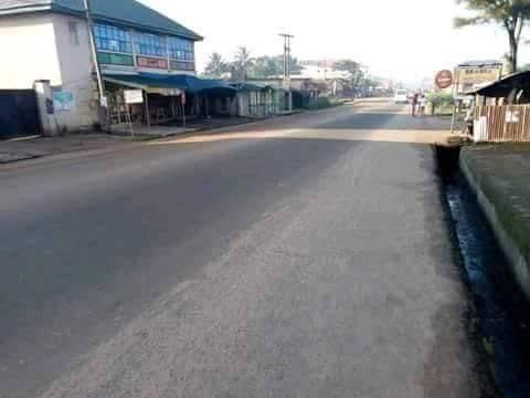 IPOB Sit-At-Home: Photos From Aba, Umuahia, Ebonyi And Onitsha