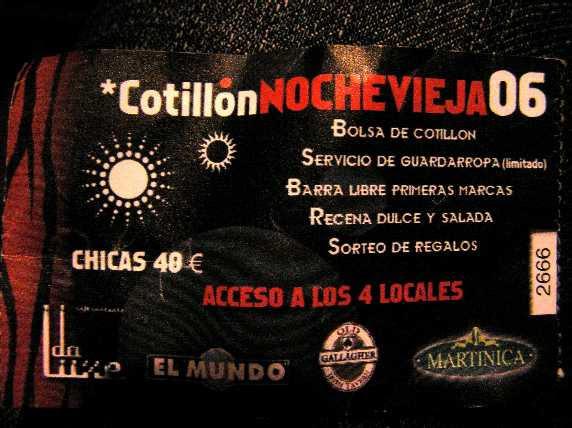 entrada cotillon