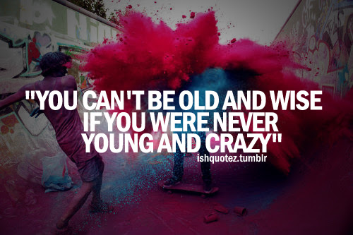 Quotes About Being Wild And Crazy 16 Quotes