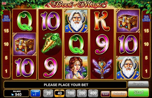 App book of magic egt casino slots percentages best item