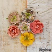 Набор цветов от Prima - Princess Flower- Glass slippers, 6 шт - ScrapUA.com