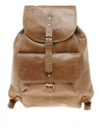 Asos Leather Backpack