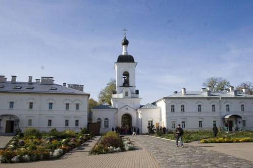 Расписание Полоцкого монастыря