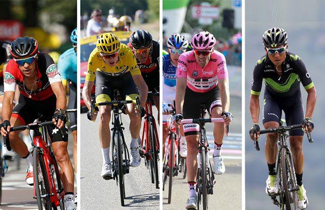 Resultado de imagen de favoritos tour de francia 2018