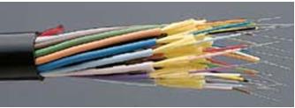 Gambar 2.3 Bentuk fisik kabel fiber optik