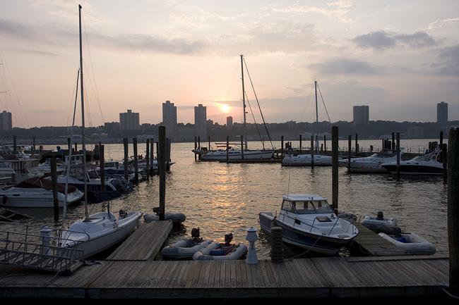Sunset, Boat Basin