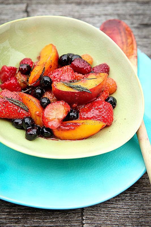 gebakken fruit