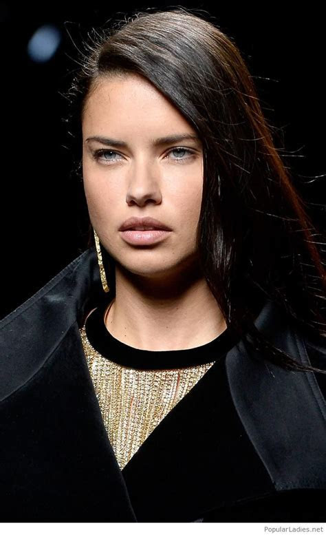 Beautiful Adriana Lima look