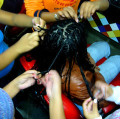 Pleating Hair - I