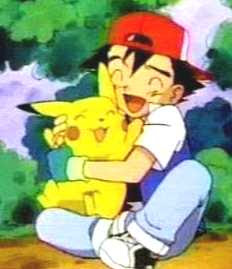 Sacha et Pikachu