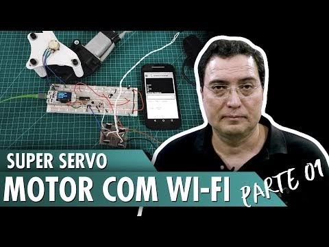 Super Servo Motor com WiFi