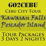 Cebu City + Kawasan Falls Nature Trek + Pescador Island Hopping Tour Itinerary 3 Days 2 Nights Package