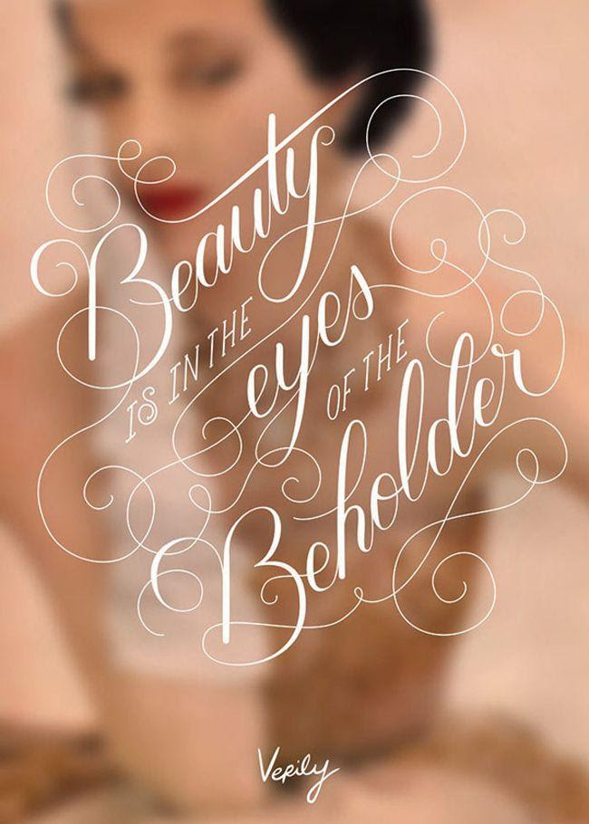 Wedding Quotes Beauty Is In The Eyes Of The Beholder 2071045