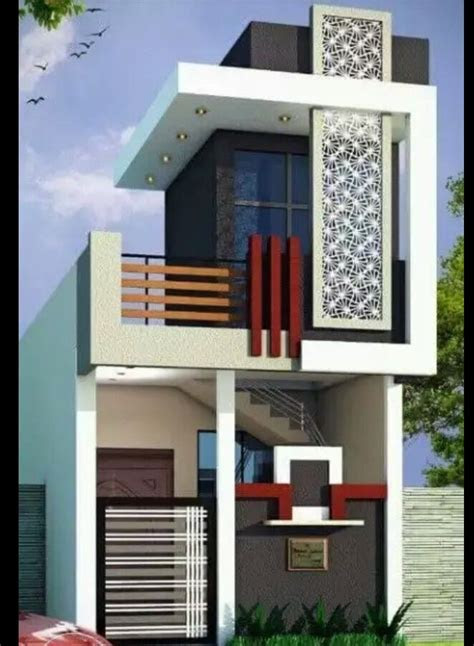 single floor elevation modern houses   house