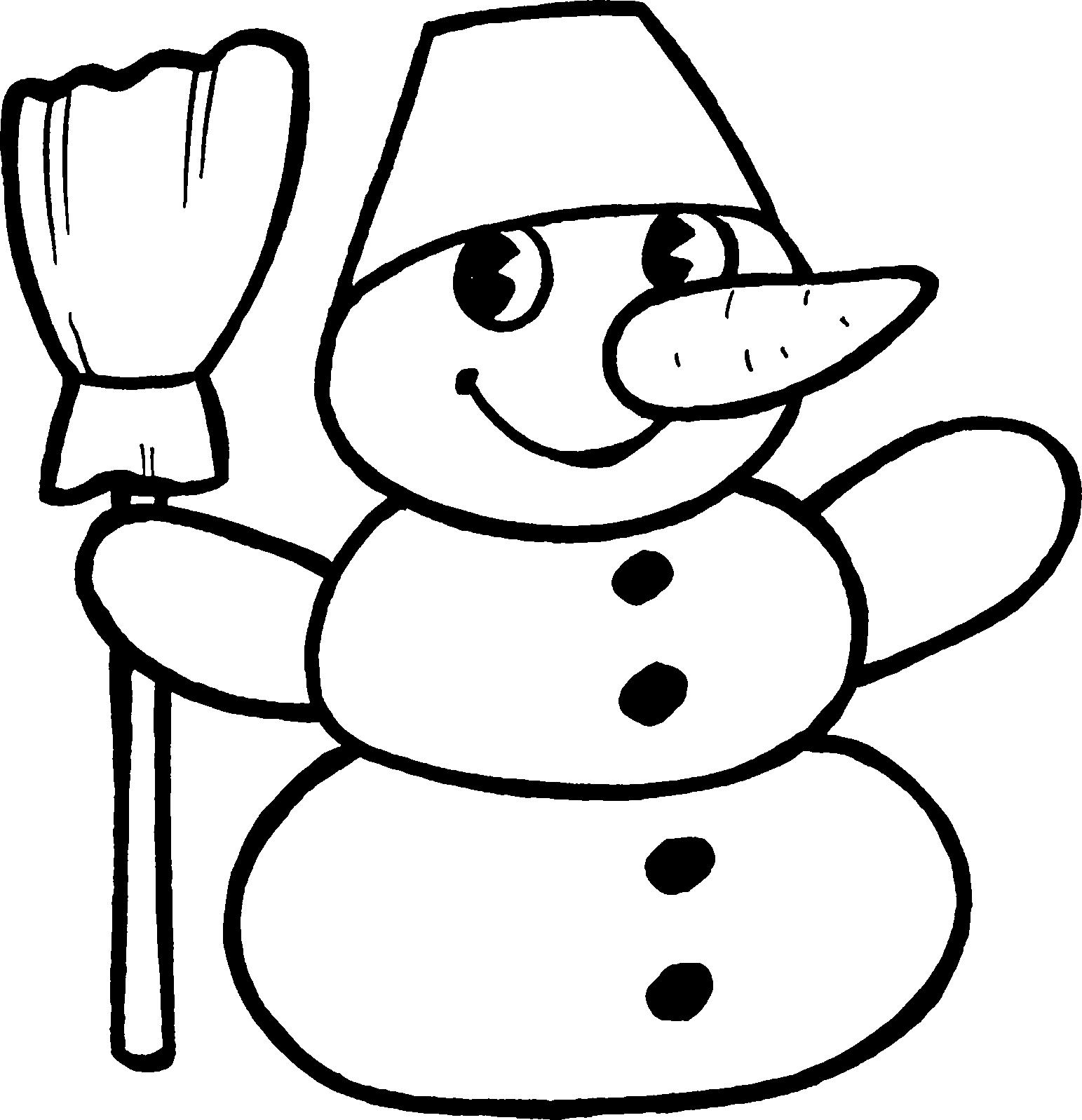 Kardan Adam 2 ücretsiz Boyama Resimleri