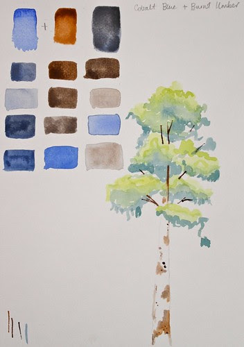 Watercolour course - Week 3