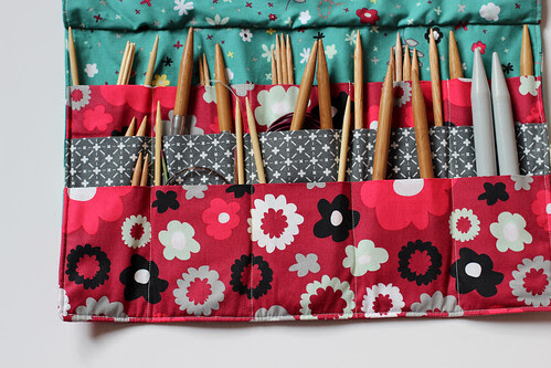 Nordika Circular Knitting Needle Wallet by Jeni Baker