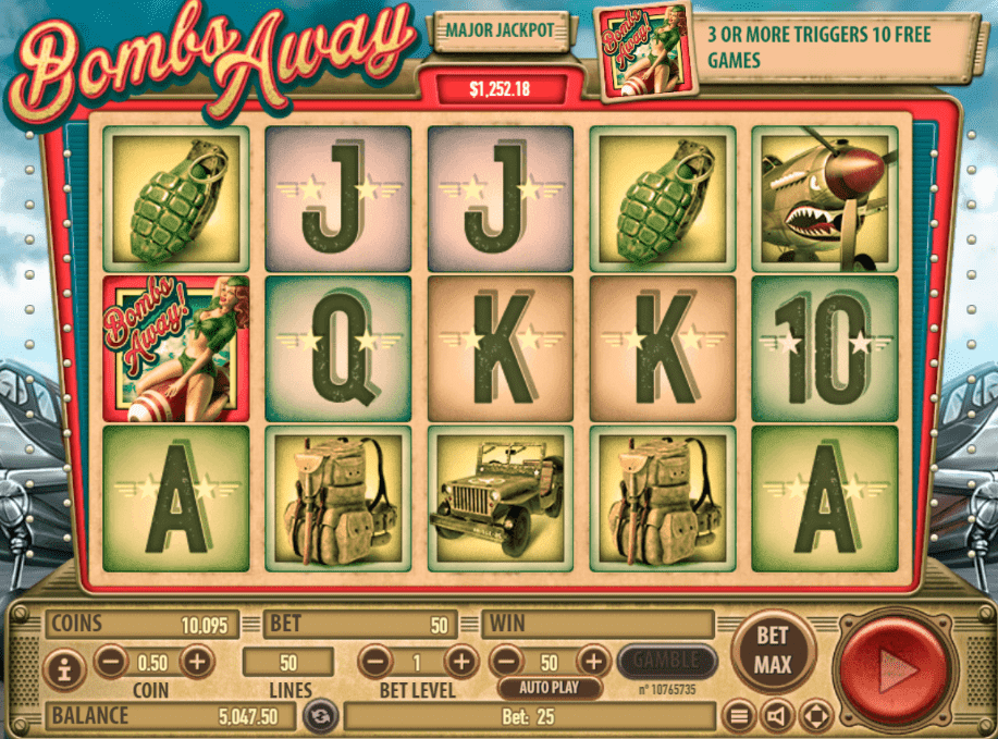Bombs away slot machine online habanero Taşova