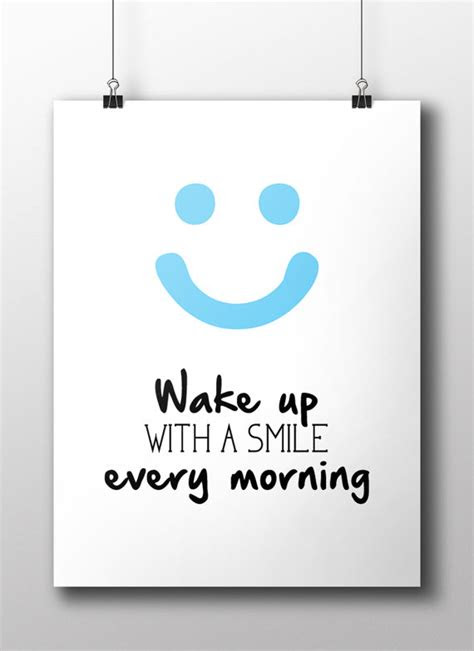 Waking Up Smiling Quotes