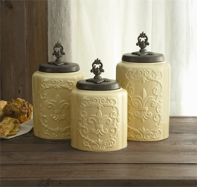 My Home Design: 20 Luxury Rustic Kitchen Canisters