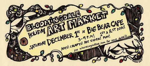 Bloomingdale Art Market!
