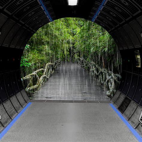 space station greenhouse rain forest sleepdroid studios