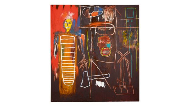 Air Power by Jean-Michel Basquiat