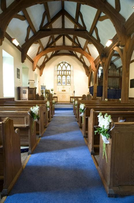 Free image of church aisle