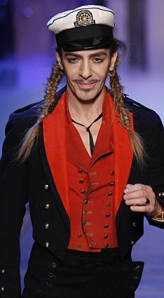Galliano has attempted to fightback, apologising for the video and said he is not responsible for any other racist abuse