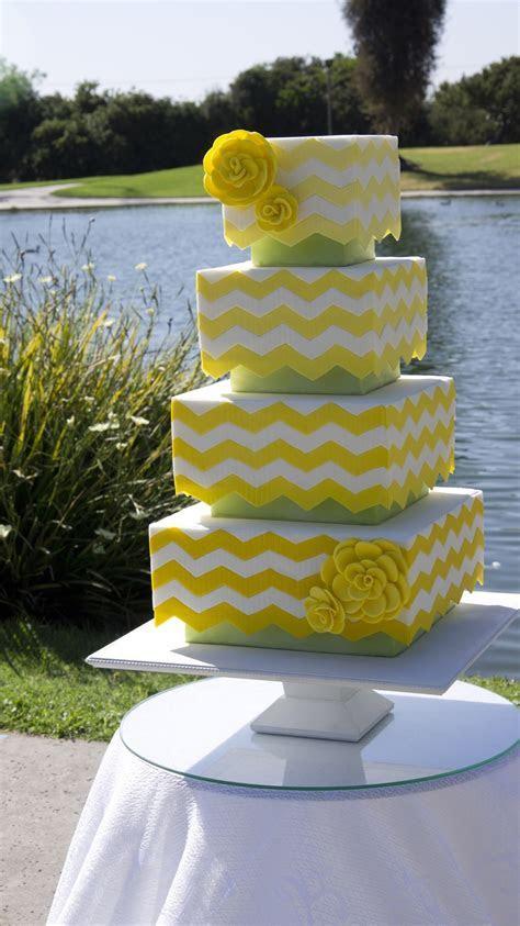 Lemon And Green Wedding Cake For Cake Central Magazine