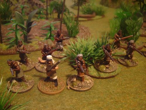 Askari firing line