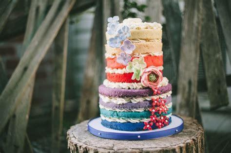 Rainbow Ombre Cake Tutorial   CakeCentral.com