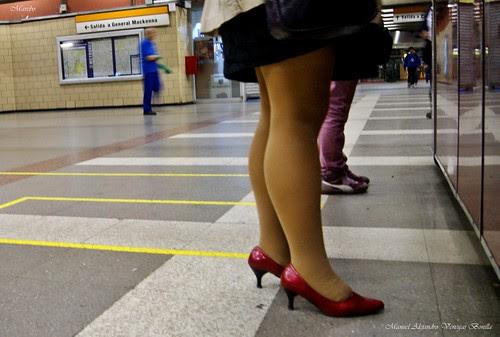 Santiago de Chile, metro Cal y canto by Alejandro Bonilla