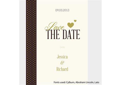 Free Vector Wedding Invitation   Download Free Vector Art