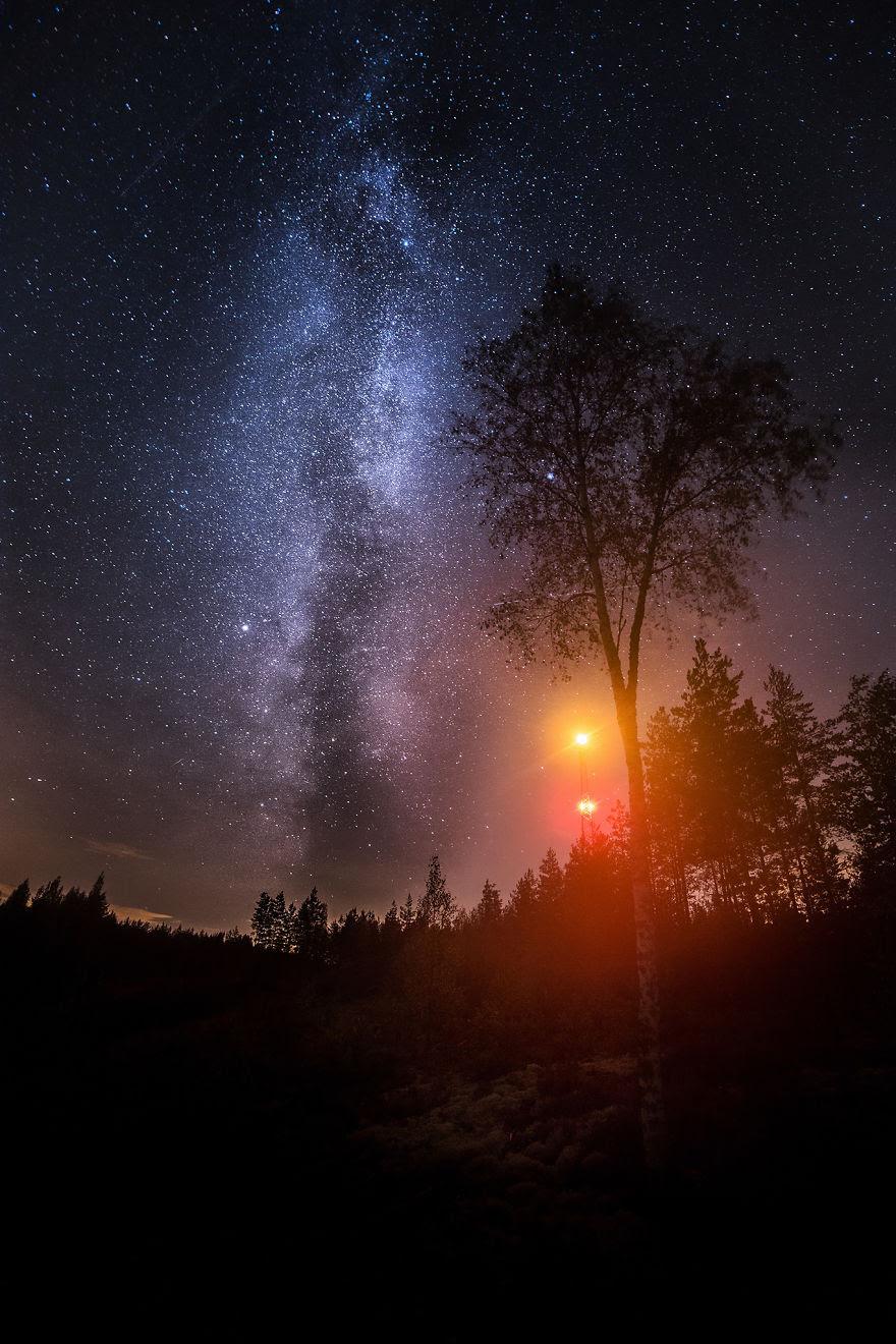 Radio Mast Milkyway (southern Finland)