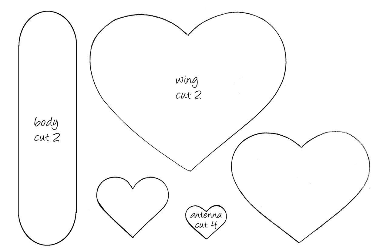 880 Valentine Butterfly Coloring Pages Pictures