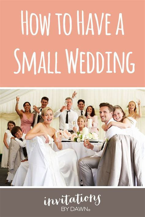 How to Have a Small Wedding   Wedding Help & Tips