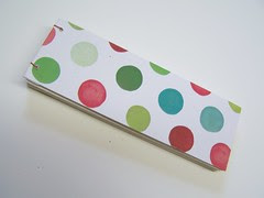 front cover with happy dots