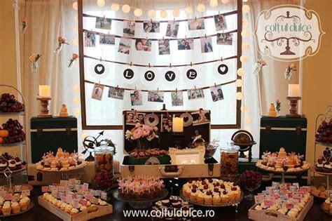 Travel theme trip Candy Bar / Coltul Dulce / Dessert Table