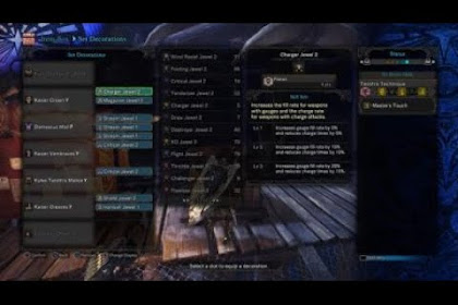 Mhw Charge Blade Build 2019