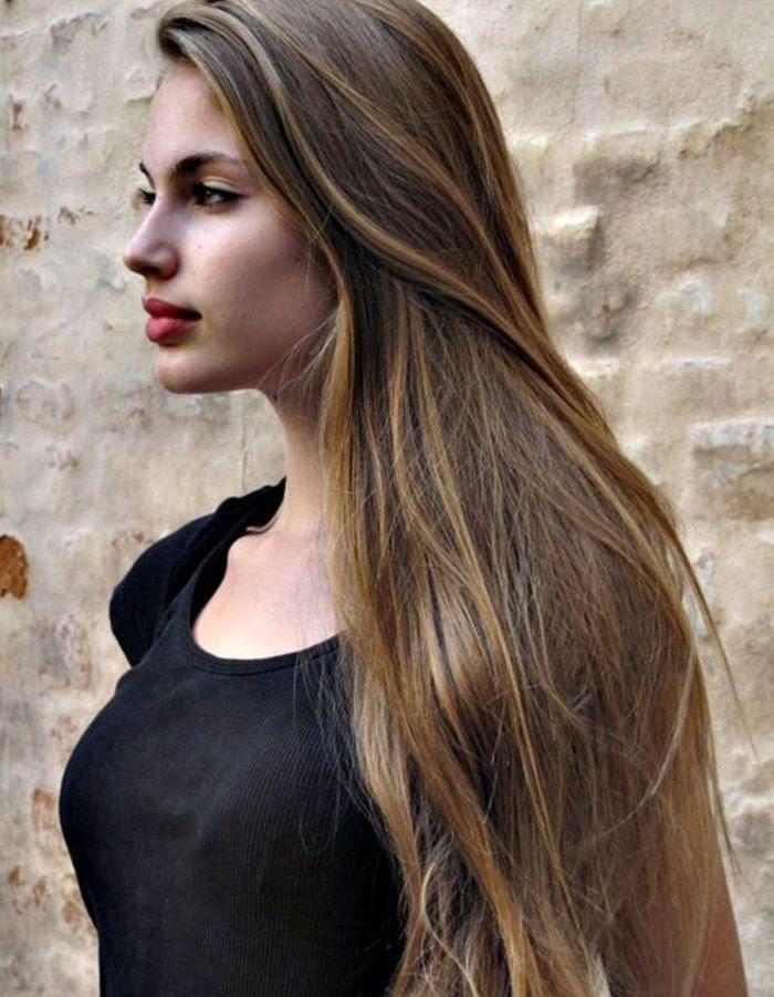 Coupe Cheveux Long Lisse Femme