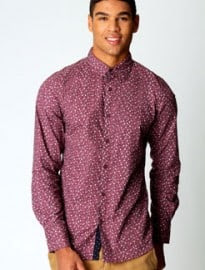 Floral Patch Long Sleeved Shirt