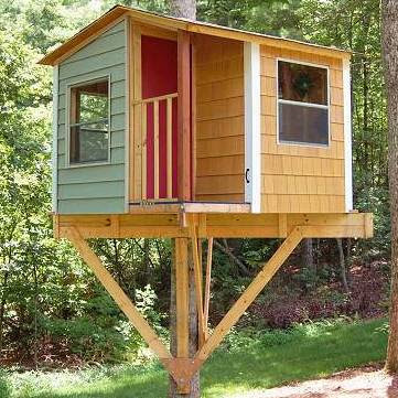 Treehouse Guides Plans To Build A Tree House