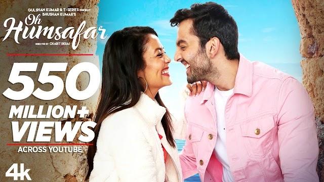 O humsafar lyrics - Neha Kakkar & Tonny Kakkar   lyrics for romantic song