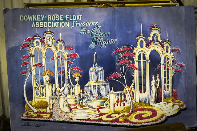 Downey Rose Float 2014