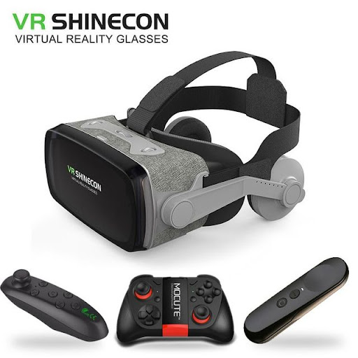2efc7d63fb43 Best Offers hot!2019 Shinecon Casque 9.0 VR Virtual Reality Goggles 3D  Glasses Google Cardboard VR Headset Box for 4.0-6.3 inch Smartphone