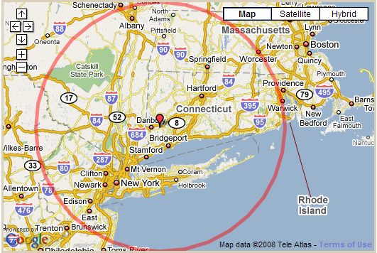 100 Miles Radius Nyc Map | World Map on chico ca county zip codes map, mile radius map charlotte nc, chicago illinois map, dallas drive time radius map, custom radius map, 200 miles on a map, create a radius population map,